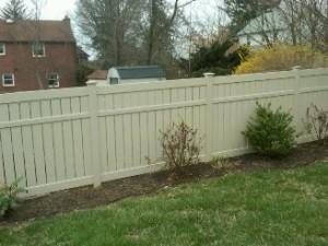 Almond Privacy Fence